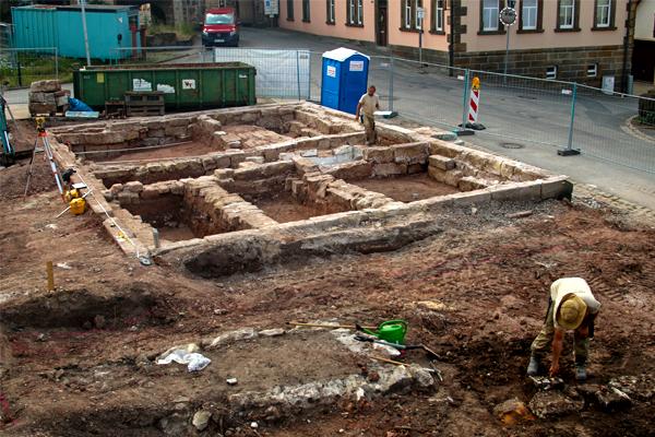 Archäologische Ausgrabung in Sesslach, Landkreis Coburg, In Terra Veritas