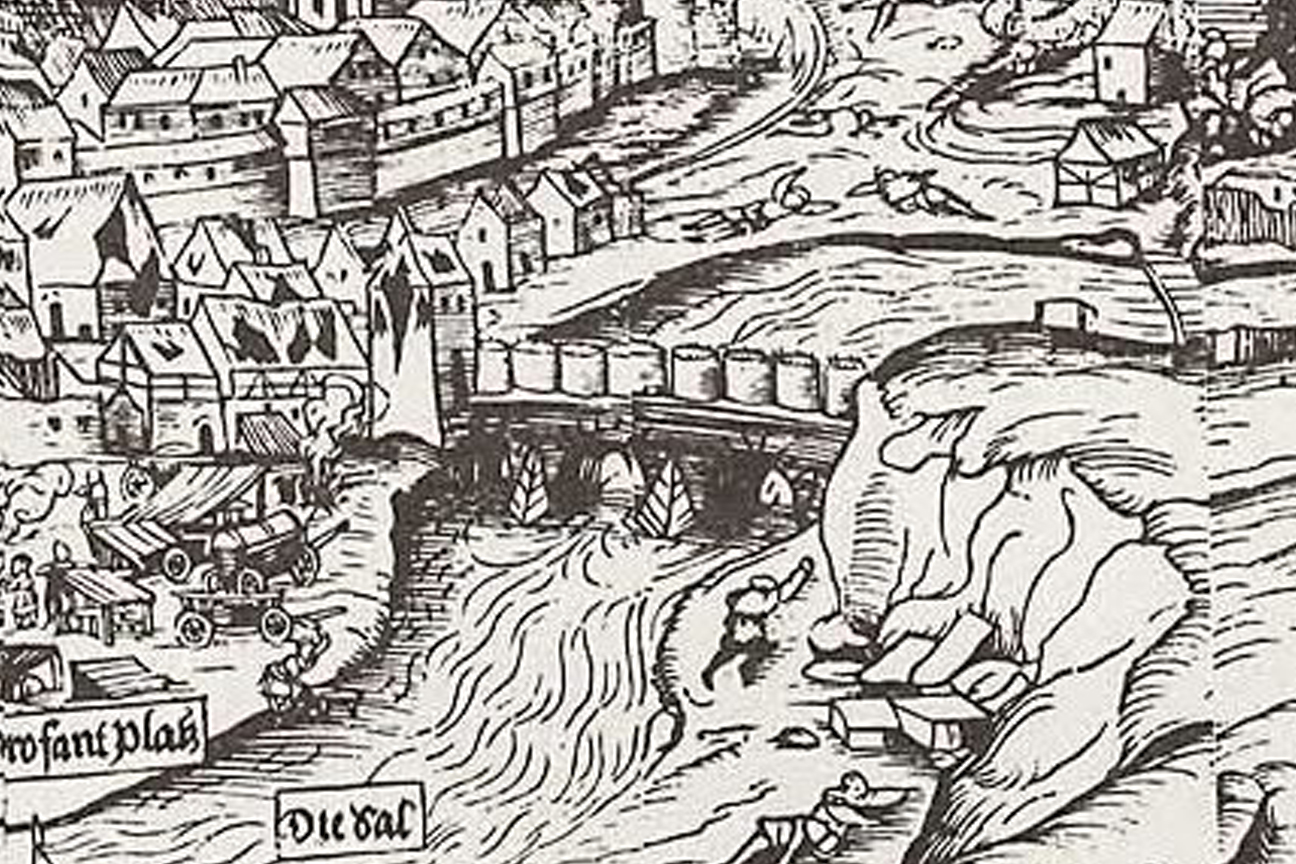 Holzschnitt-Hans-Glaser-Belagerung-der-Stadt-Hof-1553