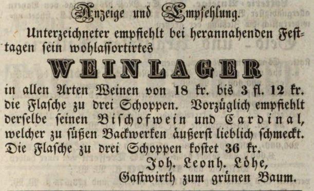 Bild2-Zeitungsanzeige-Gruener-Baum-Fuerth-1843