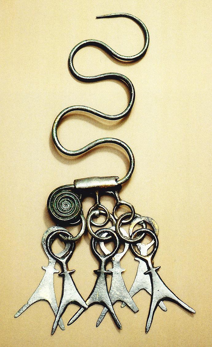 Nadel-mit-Spiralscheibenkopf
